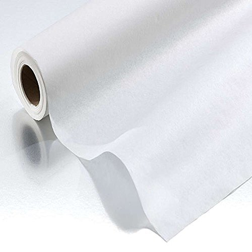Graham Medical Exam Table Paper, Disposable, Smooth, 18 Inch x 225 Feet, White, 42531 (Case of 12)