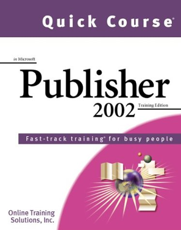 Quick Course Microsoft Publisher 2002 product image
