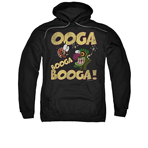 Courage The Cowardly Dog CN TV Eustace Ooga Booga Booga Adult Pull-Over Hoodie