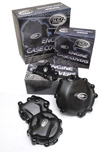 R&G(アールアンドジー) エンジンケースカバーセット ポリプロピレン ブラック ZX-10R(06-07) RG-KEC0021BK   B005JWJUO6