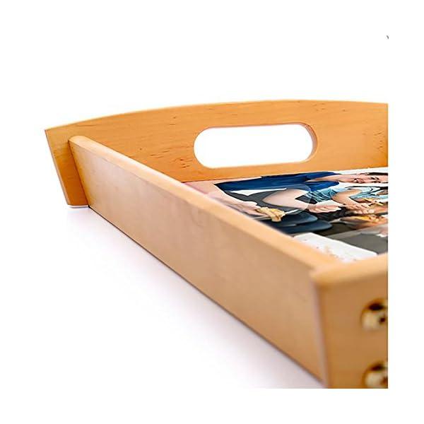 Dkora-T - Bandeja de madera personalizada Pequeña - 34x21cm 8