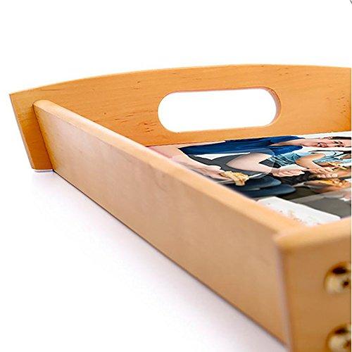 Dkora-T - Bandeja de madera personalizada Pequeña - 34x21cm 7