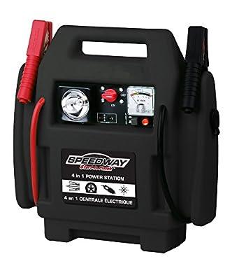 Speedway 7226 4 In 1 Powerstation-Inflator, Jumpstarter, 12-Volt Outlet Light
