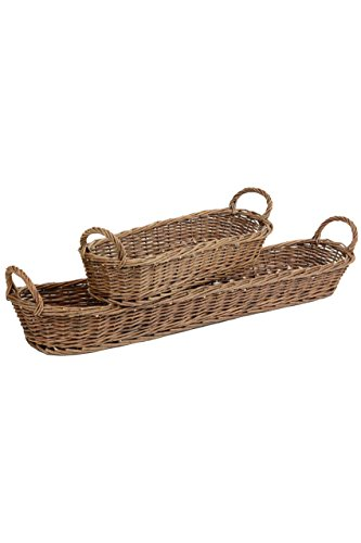 Vagabond Vintage Willow Baguette (Baguette Basket)
