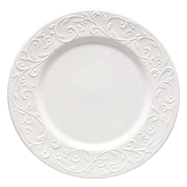 Lenox Opal Innocence Carved Dinner Plate