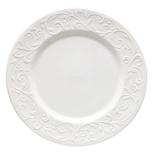 - Lenox Opal Innocence Carved Dinner Plate
