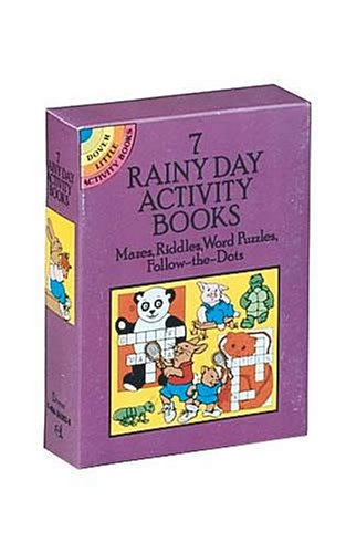 7 Rainy Day Activity Books