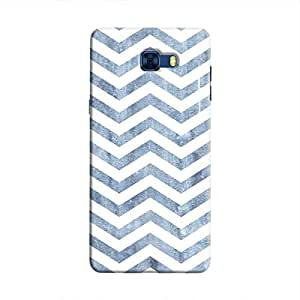 Cover It Up - Denim Bubblegum Print Galaxy C7 Pro Hard Case