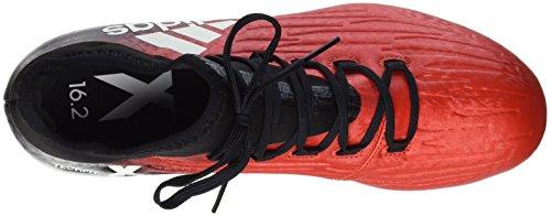 adidas X 16.2 FG, Scarpe da Calcio Uomo Rosso (Red/Ftwr White/Core Black)