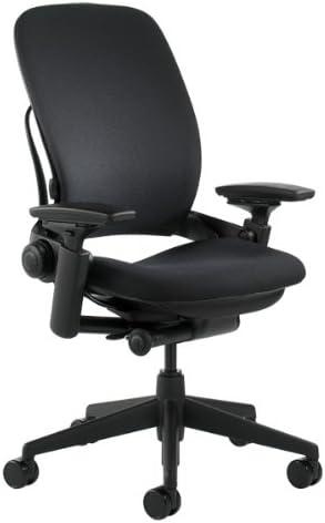 Steelcase Leap Fabric Chair, Black, – 46216179FBL
