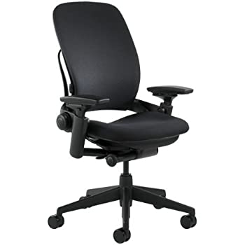 This Item Steelcase Leap Fabric Chair, Black