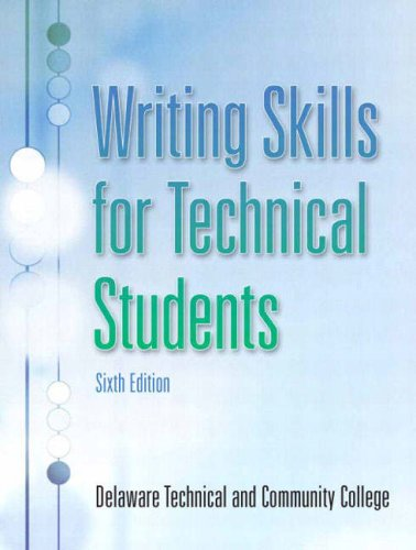 Writing Skills for Technical Students (6th Edition)