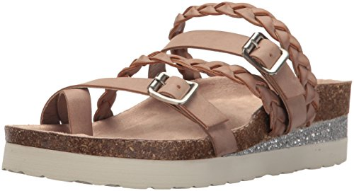 Sugar Women's Sgr-Xtra Wedge Sandal, Maple Syrup, 6 M US