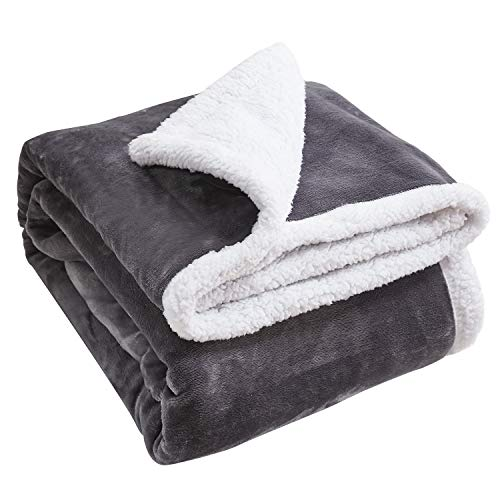 Throw Blanket Fleece Birthday Sherpa