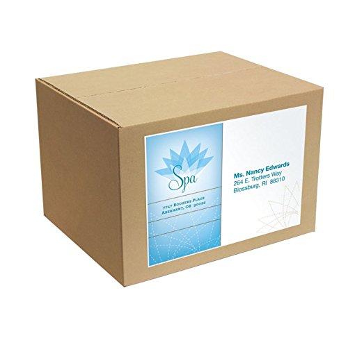 Office Depot(R) Brand White Inkjet/Laser Permanent Full-Sheet Labels, 505-O004-0012, 8 1/2in. x 11in, Box Of 100