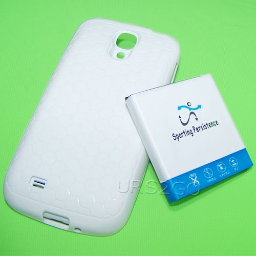 Price comparison product image High Capacity 3.8V Li-ion 7980mAh Extended Battery Back Cover TPU Case for T-Mobile Samsung Galaxy S4 i9500 SGH-M919 MobilePhone