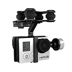 RC Toys Walkera G-2D Brushless Gimbal Metal Version for iLook/GoPro Hero 3 Camera on Walkera QR X350 Pro RC from Zereff