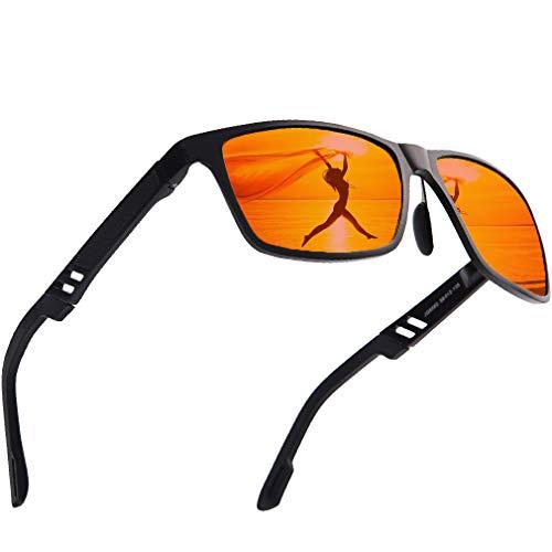 asses UV Protection Metal Frame Sun Glasses Women ()