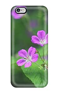 For Iphone 6 Plus Tpu Phone Case Cover(beautiful Flower)