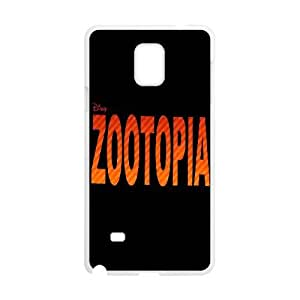 SamSung Galaxy Note4 cell phone cases White Zootopia fashion phone cases UIWE602052