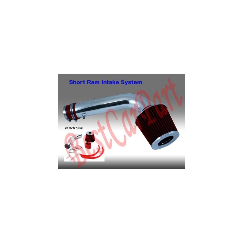 95 96 97 98 99 00 Ford Ranger 4.0l OHV Short Ram Intake Red (Included Air Filter) #Sr fd007r