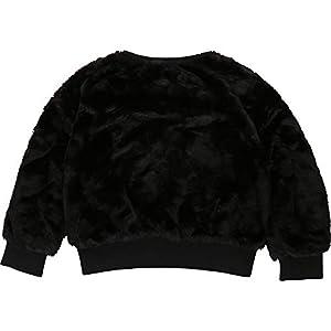 DKNY Girl's D35Q32 Black Winter Sweater