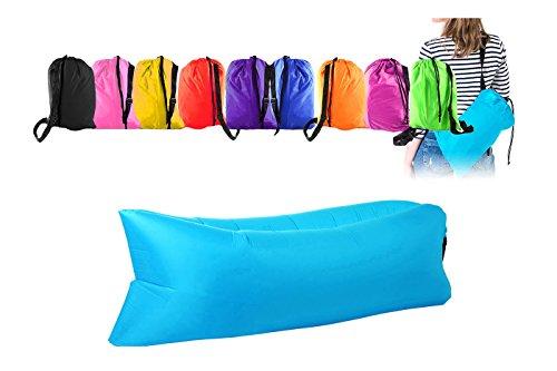 Saco hinchable con aire multiuso: cuna, colchón, hamaca ...