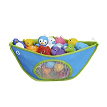 Corner Bath Organizer, Colours May Vary, Blue and Pink