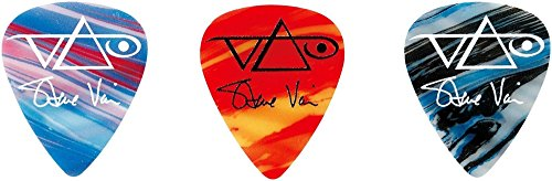 Steve Vai Signature Guitar - Ibanez Steve Vai Passion and Warfare Signature Picks 3-Pack 1.0 mm 3 Pack