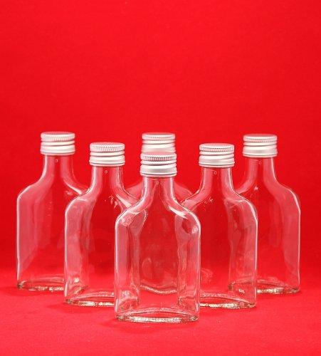 10 x 200 ml bottiglie di vetro vuote con tappo da slkfactory
