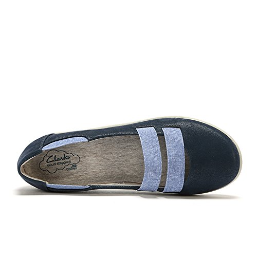 Clarks SILLIAN Rest Wide Fit, Blau - Blau - Marineblau - Größe: 3½ UK