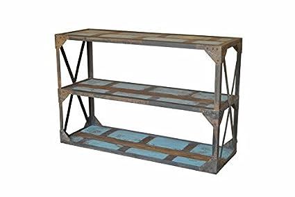 47u0026quot; Rustic Farmhouse Reclaimed Wood SPANISH STYLE Sofa Console TABLE  Handmade