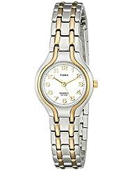 Timex Womens T27191 Linwood Street Two-Tone Stainless Steel Bracelet Watch