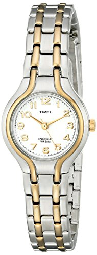 Timex Women's T27191 Linwood Street Two-Tone Stainless Steel Bracelet Watch Bracelet Style Wrist Watch