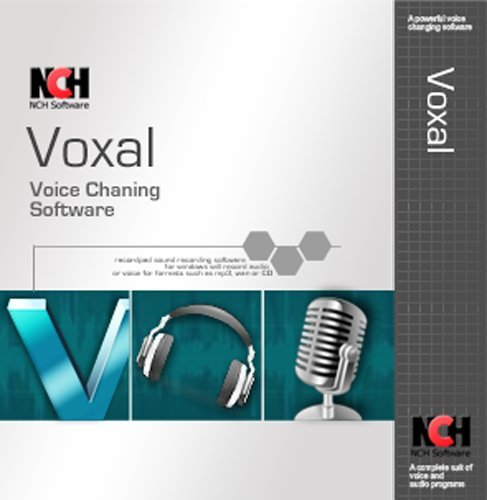 Voxal Voice Changer Software - Powerful and Real-time Voice Changing for Apps [Download] by NCH Software