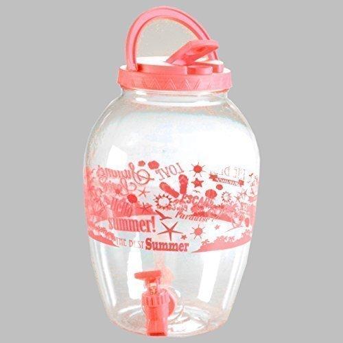 Getränkespender SUMMER Kunststoff Schraubverschluss Henkel Bunt Dispenser  (Pink) Product Image
