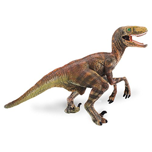 [Velociraptor dinosaur toys, Realistic Hand Painted Toy Figurine Model, Quality Construction from Safe and BPA Free Materials, realistic skin, Ltd Prehistoric Life Suitable for collectors and kids] (Articulated Tail Costume)