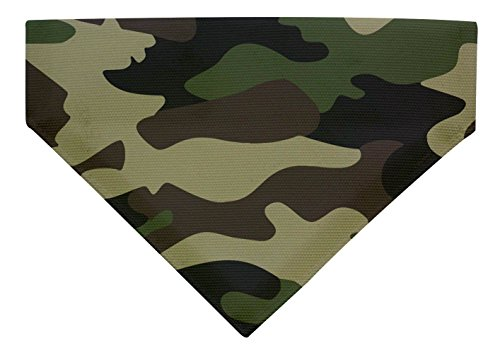 (ThisWear Camo Dog Bandana Camouflage Hunting Dog Gifts Camo Dog Costume Small Dog Scarf for Dogs Bib)