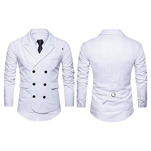 Slim Tuxedo Business color Size Gilet Uomo 2 Baomwool Giovane Modern Leisure Abito White Sposa 2xl Fit Da EwHwB8xYqU