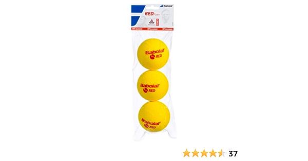 BABOLAT Unisexs Omni X3 Ball Yellow One Size