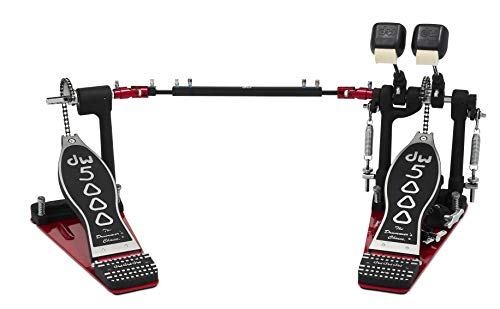 (DW 5000 Series Accelerator Double Bass Drum Pedal - Single Chain)
