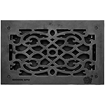 "Floor Heat Register Louver Vent Cast 8"" X 14 Duct 