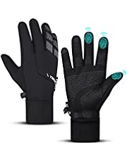 Thermal Winter Gloves for Men Women, Freezer Warm Gloves, Waterproof Lightweight Touch Screen Gloves for Hiking Cycling