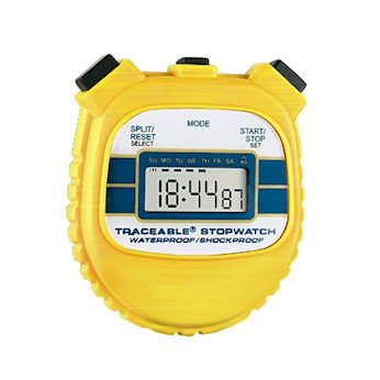 Cole Parmer Waterproof Shock Resistant Stopwatch 94460 55 product image