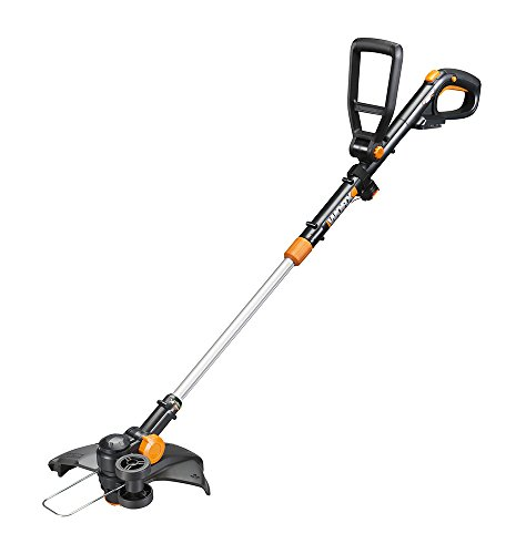 Worx WG170 GT Revolution 20V 12″ Grass Trimmer/Edger/Mini-Mower 2 Batteries and Charger Included, Black and Orange