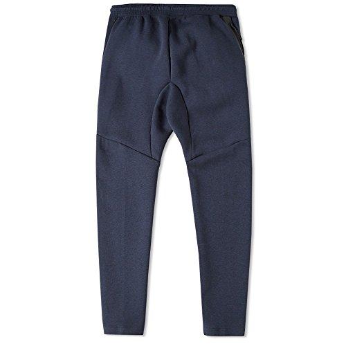 (Nike Tech Fleece Cropped Men's Pant's - Size Small Obsidian Heather 727355 473 Blue )