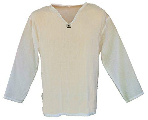 Cotton Hippie V Neck Summer T Shirt