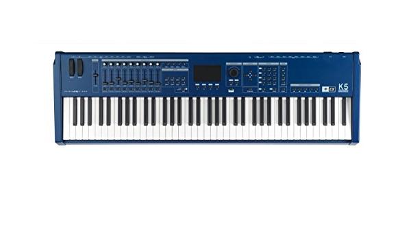 Piano Físico K5-Ex De 76 Teclas Teclado Maestro Midi Con Caja ...