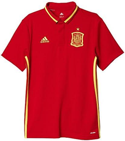 adidas Selección de España 2016 - Camiseta Polo Oficial para niño, Talla 128: Amazon.es: Zapatos y complementos