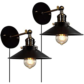 Industrial Edison Vintage Wall Sconce - LITFAD 9.5